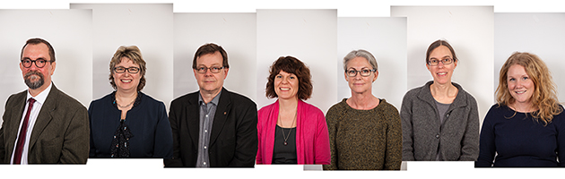 The management team Uppsala University Library
