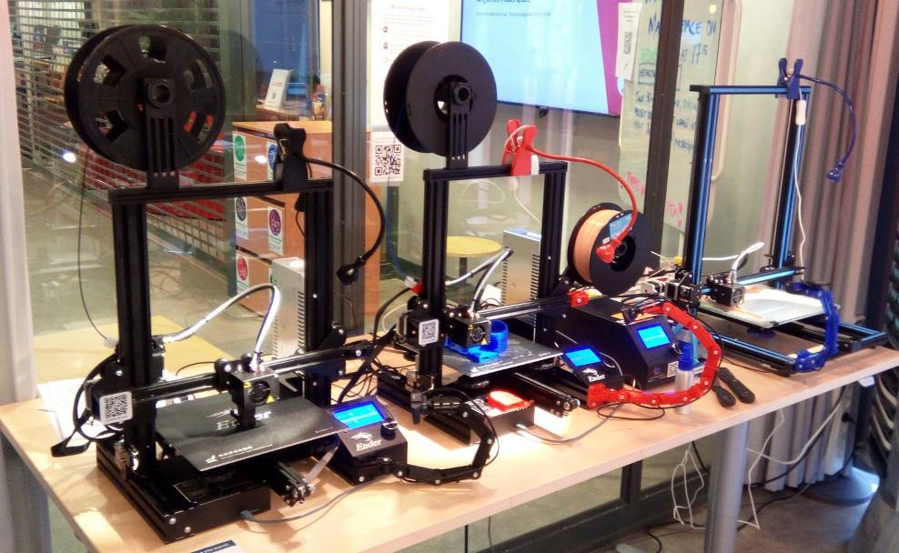 Introduction to the 3D printers at Ångström Makerspace